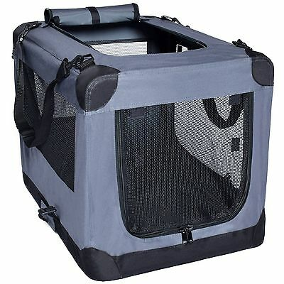Arf Pets Dog Soft Crate Kennel for Pet Indoor Home & Outdoor Use - Soft Sided 3