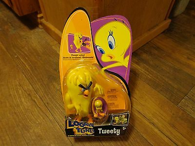 2003 Mattel--Looney Tunes Back In Action--Tweety Figure (New)