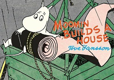 Moomin Builds a House by Tove Jansson Paperback Book New