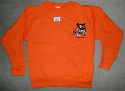 Tiger Cub Scout Official Sweatshirt Sweater Adult Sz S Medium Large Made In Usa