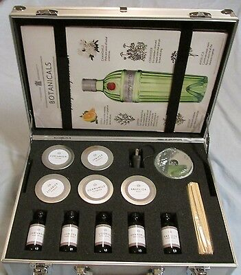 """tonight We Tanqueray"" Sales Kit, Aluminum Case, 10 Samples, 4 Posters, Xlnt"