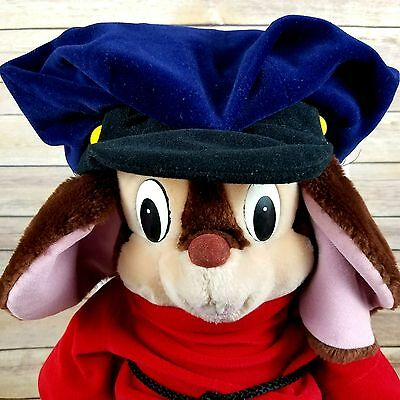 Fievel Mouse Plush Vtg Stuffed Animal American Tail Movie 1986 Sears 23 in Large