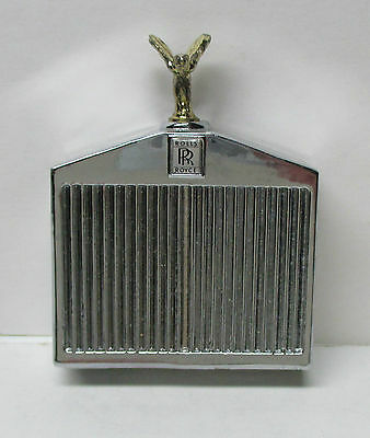 Vintage Rolls-Royce Radiator Permanent Match Lighter With Box & Instructions -EX