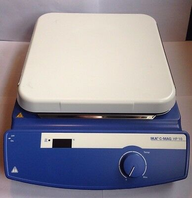 "IKA C-MAG HP 10 Hot Plate 10"" x 10"" Excellent!!"