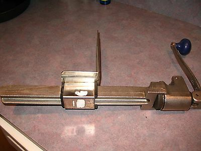 Manual Edlund  #1  NO 1 Manual Can Opener with Plated Steel Base  USED