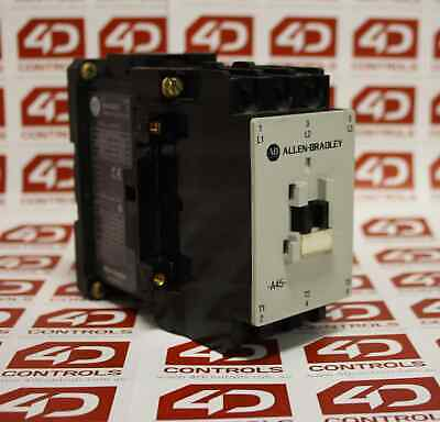 Allen Bradley 100-A45ND3 CONTACTOR 45AMP 3POLE COIL 120/110V 50/60HZ - Used -...