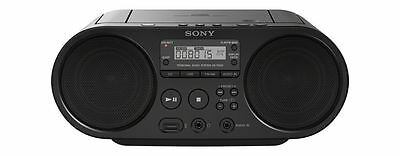 Sony Portable Full Range Stereo Boombox Sound System with MP3 CD Player, AM/FM R