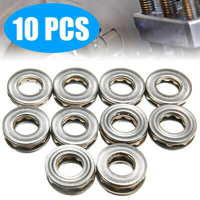 10PCS Model F8-16M 8 x16 x 5mm Miniature Thrust Axial Metal Ball Bearing