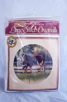 """Semco Longstitch Origonals """"Mother and Foal"""" Horse Image Kit Number 3300-3127"""