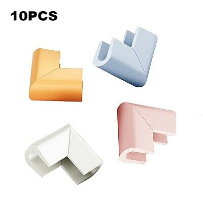10X Table Corner Protectors Baby Child Foam Safety Desk Edge Cover Cushion