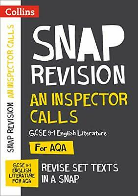 An Inspector Calls: AQA GCSE English Literatu by Collins GCSE New Paperback Book