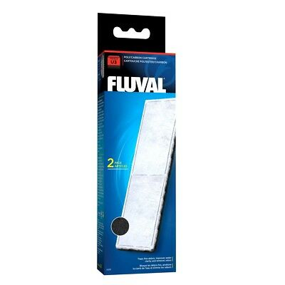 Hagen Fluval U3 Poly/carbon Cartridge 2 Pack