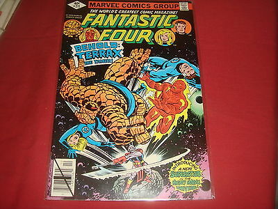 FANTASTIC FOUR #211   1st Terrax Marvel Comics 1979 VF