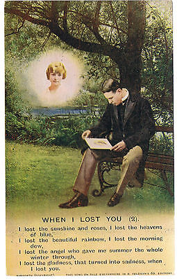 Bamforth Postcard When I Lost You Series No 4816-2/3