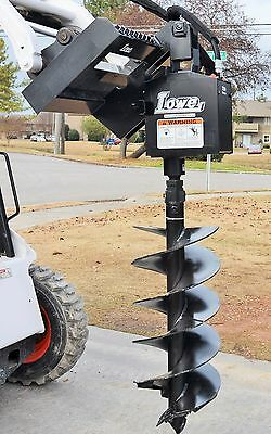 "Bobcat Skid Steer Attachment - Lowe 750 Classic Hex Auger - 18"" Bit - Ship $199"