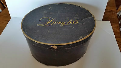 Vintage Mr. Disney Oval Shaped Hat Box