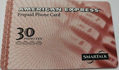 American Express Phone Card, 1998 Vintage Collectible                        (H)