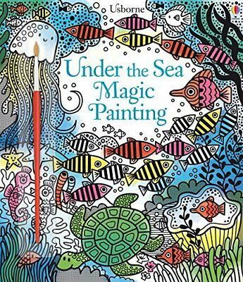 Under the Sea Magic Painting by Fiona Watt New Paperback Book
