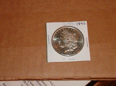 Gem 1890 Morgan Silver Dollar 90% Silver - Beautiful Coin