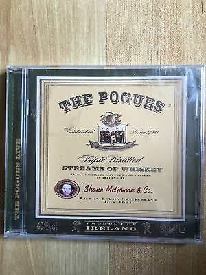 The Pogues Streams Of Whiskey: Live In Leysin Switzerland 1991 CD New / Sealed