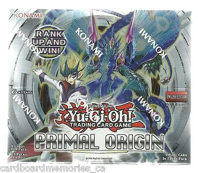Yu-gi-oh! Yugioh Primal Origin Factory Sealed 1st Edition Booster Box