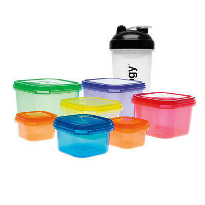 Fitness Premium Shaker w/ Food Container x 7 pcs Shakeology For 21 Days Fix