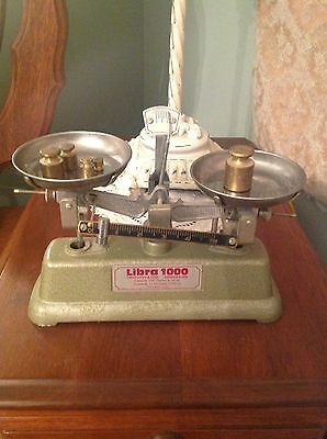 Libra Laboratory 1000 Scale With Weights