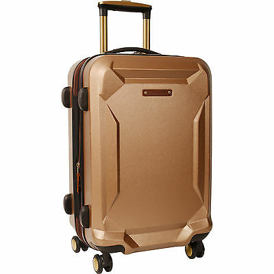 "Timberland Fort Stark Tan Hardside Spinner 21"" Suitcase $320 Value"