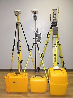 Trimble IS Solution S6 Robotic Total Station & R8 Model 2 GPS GNSS RTK Set TSC3
