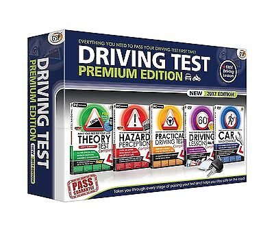Premium 2017 Driving Theory Hazard Practical Test CD DVD Latest Highway Code UK