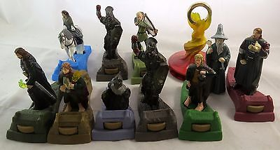 Lord of the Rings Burger King Figure Lot Orc Strider Merry Boromir