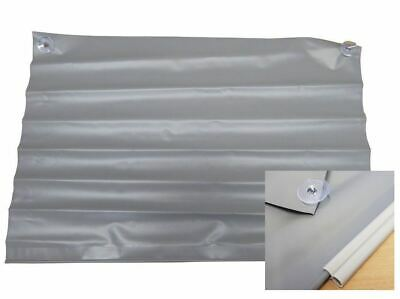 Caravan Awning Wheel Arch Draught Excluder Cover kit with Figure 8 rail