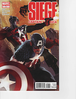 Siege Captain America One Shot ~ Near Mint