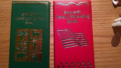 One Green & One Red Elongated Penny Souvenir Book With 1 FREE Pressed Pennies!