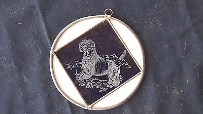 PBGV-  Original Design  Hand Engraved medallion by Ingrid Jonsson