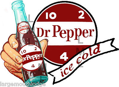 Dr PEPPER DECAL NORTHWESTERN GUMBALL VENDING MACHINE