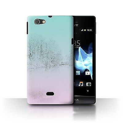Case/Cover Sony Xperia Miro/ST23I / Abstract Ombre / Countryside Sketch