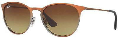 4e3777baf8 RAY-BAN ERIKA METAL Brown Gradient Unisex Sunglasses RB3539-193 13 ...