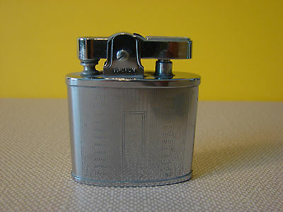 Vintage Collectible Pacton Silver Tone Metal Engraveable Lighter in Box