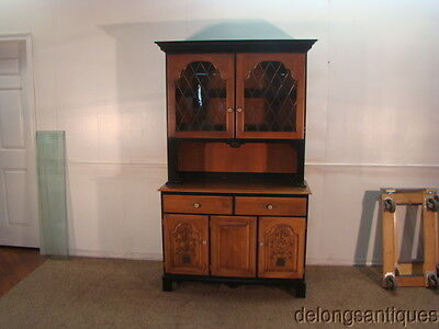 42544 Hitchcock Solid Maple China Cabinet