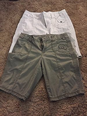 Lot Of 2 Women's New Direction Weekend Shorts-10