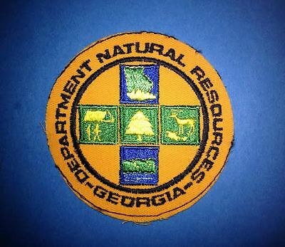 Vintage 1970's Georgia Department of Natural Resourses Collectible Patch