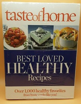 TASTE OF HOME  Best Loved Healthy  Recipes Cookbook ....Brand New and Sealed