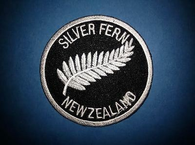 New Zealand Silver Fern Hat Jacket Biker Vest Backpack Travel Crest Patch F