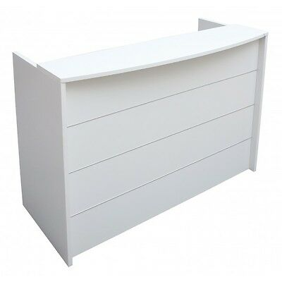Ready 2 Go RD212 Office Reception Desk - White