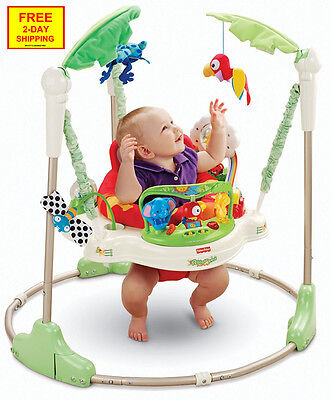 BABY JUMPER Walker Bouncer Activity Learning Seat Sounds Soft Music