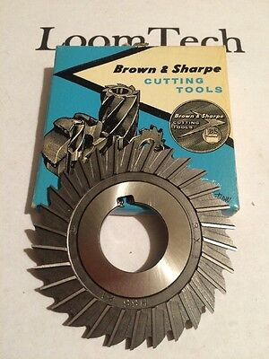 New Milling Cutter Slitting Saw 3 X 1/8 X 1 HS Brown And Sharpe