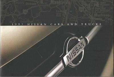 ADVERTISING SALES BROCHURE - 1997 – NISSAN AUTOMOBILES – 28 Pages