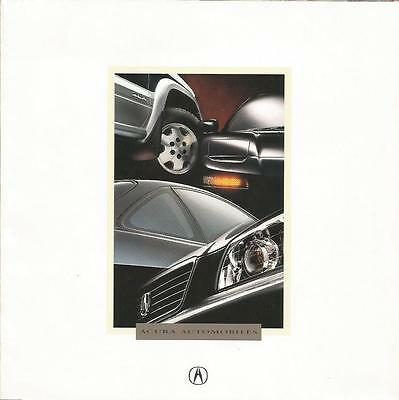ADVERTISING SALES BROCHURE - 1995 – ACURA AUTOMOBILES – 12 Page, Fold-out