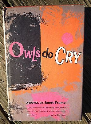 "1st Edition (cloth) of the Modern Classic: ""OWLS DO CRY"" by **JANET FRAME** 1960"